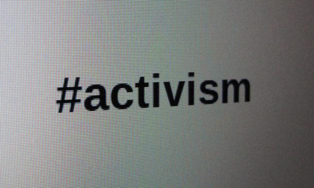 Activism? That's so passé!