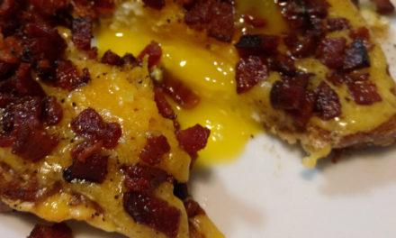 Recipe: Cheesy Egg Toast