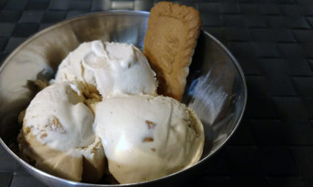Recipe: Cookie Butter Ice Cream