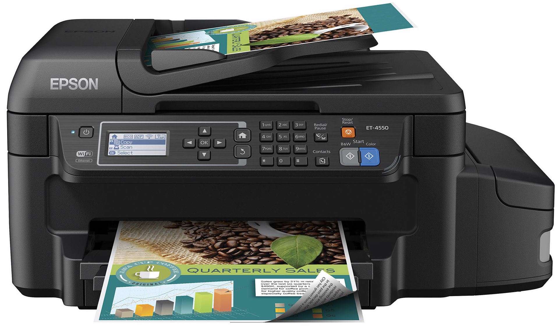 Top Three All-in-One Inkjet Printers